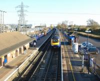 Non-stop westbound through Thatcham for a First Great Western HST on 6 December 2008.<br><br>[John McIntyre&nbsp;06/12/2008]