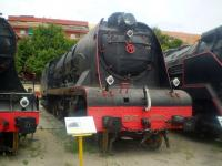 RENFE 241f2108 on display at the Spanish Railway museum at Vilanova i la Geltru in August 2008. <br><br>[Colin Alexander&nbsp;/08/2008]