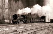 JS 2-8-2 no 8246 loading a coal train at the mining town of Yuobaoshan in north east China in February 1982. <br><br>[Peter Todd&nbsp;18/02/2003]