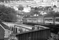 Class 50 no 50047 departs east from Bath on 29 June 1974.<br><br>[John McIntyre&nbsp;29/06/1974]