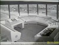Photograph taken in the control tower at Perth New Yard shortly after opening [with acknowledgement to O S Nock]. Built in the 1950s, the yard and its associated infrastructure, were recently demolished and the area cleared for redevelopment. [See image 21561]  <br><br>[Gary Straiton&nbsp;29/11/2008]