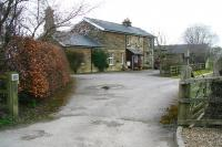 Station approach and forecourt at the former Nawton station in April 2008.<br><br>[John Furnevel&nbsp;01/04/2008]
