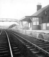 The station at Carronbridge circa 1940.<br><br>[Ian Steele Collection&nbsp;//1940]