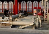 Hydraulic buffer stops at Antwerp Central station in 2006.<br><br>[Peter Todd&nbsp;09/12/2006]