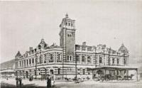 Durban Central Station Natal Railway - ex Colony of Natal Railway Handbook and Guide by JF Ingram - 1895<br><br>[Alistair MacKenzie&nbsp;//1895]
