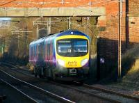FTP 185141 on its way south at Woodacre with a service to Manchester Airport on 24 January 2009. <br> <br><br>[John McIntyre&nbsp;24/01/2009]
