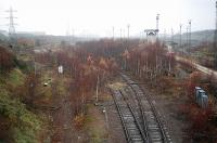 The southern portion of Tinsley Marshalling Yard. Lines here have now been lifted.<br><br>[Ewan Crawford&nbsp;23/11/2004]