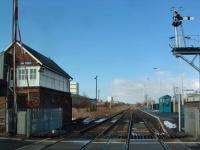 Looking to Shildon. It was here that the Locomotion No 1 was assembled.<br><br>[Ewan Crawford&nbsp;29/02/2004]