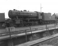 WD Austerity 2-8-0 no 90020 on shed at Thornton Junction on 11 June 1967.<br><br>[David Pesterfield&nbsp;11/06/1967]