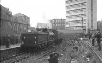 J36 no 65234 stands at North Leith shortly after arrival with a branch line railtour in August 1964.<br><br>[K A Gray&nbsp;29/08/1964]