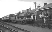 J36 no 65234 stands at Haddington with a branch line railtour on 29 August 1964.<br><br>[K A Gray&nbsp;29/08/1964]