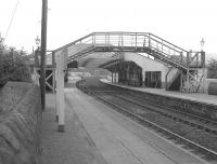 Looking east at Huntly in July 1963.<br><br>[Colin Miller&nbsp;/07/1963]