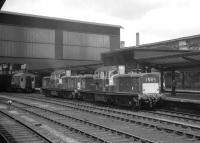 Claytons D8558+D8569 at Carlisle on 4 July 1964 having brought in the 9.50am Edinburgh Waverley - Leeds City.<br><br>[K A Gray&nbsp;04/07/1964]