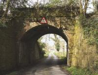 A bridge on the Wigtown line on 5 April 2009, just south of the Bladnoch Viaduct.<br><br>[Colin Miller&nbsp;05/04/2009]