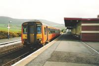 156 513 stands at Girvan in May 1999 with a service for Kilmarnock. <br><br>[David Panton&nbsp;/05/1999]