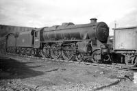 45289 at Carlisle Upperby Shed in April 1958.<br><br>[Robin Barbour Collection (Courtesy Bruce McCartney)&nbsp;15/04/1958]