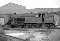 67628 at Gateshead Shed on 24 October 1964.<br><br>[Robin Barbour Collection (Courtesy Bruce McCartney)&nbsp;24/10/1964]