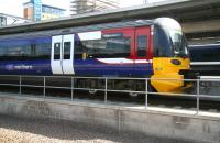 A Northern class 333 EMU stands at Leeds on 22 April with a service for Skipton.<br> <br><br>[John Furnevel&nbsp;22/04/2009]