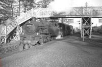 Scene at Killin Junction in the mid 1960s showing 80126 with the Killin branch train.<br><br>[Robin Barbour Collection (Courtesy Bruce McCartney)&nbsp;//196X]