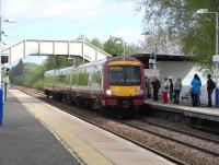 170 476 about to pick up post-lunch trippers to Glasgow from Bishopbriggs on 2 May 2009.<br><br>[David Panton&nbsp;02/05/2009]