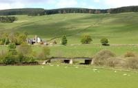 Waverley route bridge at Ferniehirst, between Stow and Bowland in May 2009.<br><br>[John Steven&nbsp;04/05/2009]