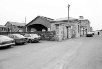 Approach to Casement station, Tralee, Co Kerry in 1988.<br><br>[Bill Roberton&nbsp;//1988]