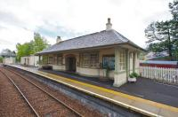 The station building at Glenfinnan on 9 May 2009.<br><br>[Norman Bews&nbsp;09/05/2009]