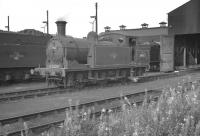 Reid ex-NBR N15 no 69143 on shed at Thornton Junction in the late 1950s.<br><br>[Robin Barbour Collection (Courtesy Bruce McCartney)&nbsp;//]