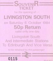 Tickets and labels 06/10/1984
