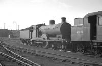 Pickersgill ex-Caledonian 4-4-0 no 54476 on shed at Stirling South in 1958. The locomotive was withdrawn from here in early 1960.<br><br>[K A Gray&nbsp;//1958]