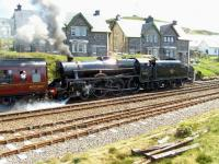 45231 <I>The Sherwood Forester</I> about to leave Mallaig for Fort William on a warm and sunny 1 June following arrival of the Glasgow Queen Street Super Sprinter service.<br><br>[Brian Smith&nbsp;01/06/2009]