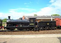 Holmes J36 0-6-0 no 65243 <I>Maude</I> at Boness on 19 June 2009. <br><br>[Brian Forbes&nbsp;19/06/2009]