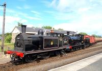 55189 and 65243 on show at Boness on 19 June 2009.<br> <br><br>[Brian Forbes&nbsp;19/06/2009]