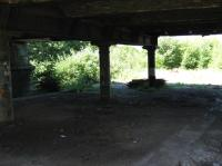 Partick Central Station - remains of platforms below Benalder Street in June 2009.<br><br>[Alistair MacKenzie&nbsp;23/06/2009]