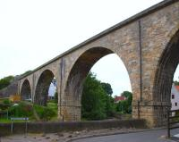 The East of Fife Railway viaduct at Largo in June 2009.<br><br>[Brian Forbes&nbsp;26/06/2009]