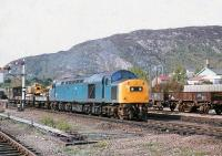 40157 with a northbound PW train at Aviemore on 3 June 1979.<br> <br><br>[Peter Todd&nbsp;03/06/1979]