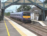 322 484 pulls into Prestonpans with a North Berwick service 4 July 2009<br><br>[David Panton&nbsp;04/07/2009]