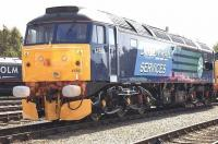 DRS 47593 looking smart for the Kingmoor TMD open day on 11 July 2009. <br><br>[Kevin McCartney&nbsp;11/07/2009]