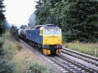 47546 with a northbound freight near Moy in August 1981.<br> <br><br>[Peter Todd&nbsp;/08/1981]