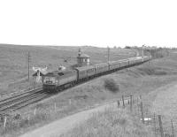 A Brush Type 4 with a down express at Craigenhill Summit in 1966.<br> <br><br>[Colin Miller&nbsp;//1966]