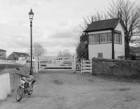 The signal box at�Clachnaharry on 28 March 1988.<br><br>[Bill Roberton&nbsp;28/03/1988]