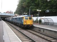 87002 'Royal Sovereign' at the head of a Brighton-Doncaster charter through Hampstead Heath on 25th July 2009<br><br>[Michael Gibb&nbsp;25/07/2009]