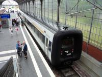 A local service waits at the platform at Lubeck in July 2009.<br><br>[John Steven&nbsp;28/07/2009]