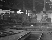 A 1960s meeting of the J27 club inside North Blyth roundhouse.<br><br>[K A Gray&nbsp;//]