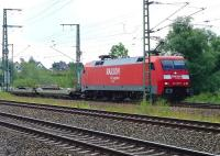 152 109-5�approaching the goods yard near Moislinger Ailee, Lubeck, in July 2009 with a freight.<br><br>[John Steven&nbsp;/07/2009]