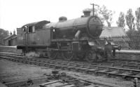 67636 at West Auckland on 13 October 1962, some 4 months after the station had  lost its passenger service. The V3 had worked into nearby West Auckland Colliery on the first stage of the <I>Durham Railtour</I> which it had handed over to B16 no 61418.<br><br>[K A Gray&nbsp;13/10/1962]
