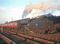 The BR (Scottish Region) <I>Last B1</I> railtour of 3 December 1966 in the loop at Kingmoor where a stop was made for a shed visit. 61278 took the train back to Edinburgh via the Waverley route. <br><br>[Bruce McCartney&nbsp;03/12/1966]