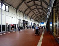 The station concourse at Lubeck in July 2009<br><br>[John Steven&nbsp;/07/2009]