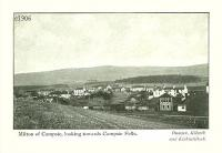 An early postcard showing a view over the railway at Milton of Campsie circa 1906.<br><br>[David Forbes Collection&nbsp;//1906]