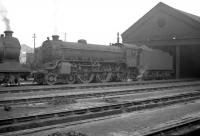 B1 61308 at St Margarets in January 1964.<br><br>[Robin Barbour Collection (Courtesy Bruce McCartney)&nbsp;03/01/1964]